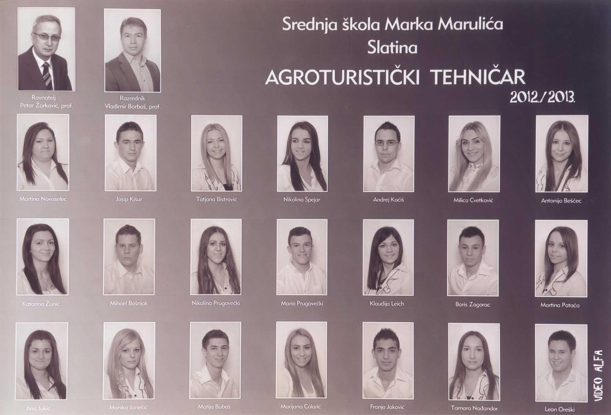 4. agroturistički tehničari